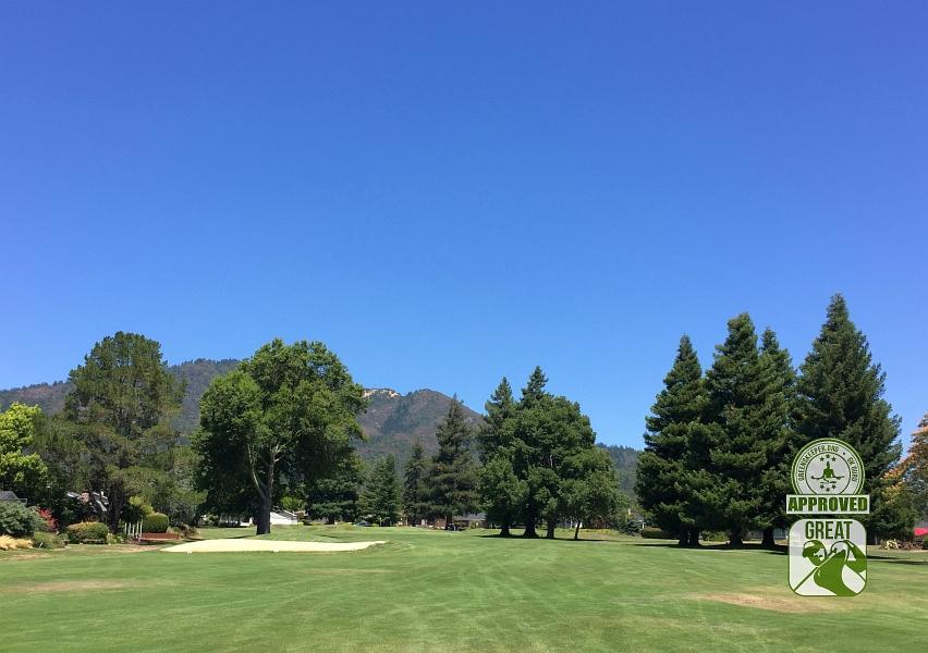 Oakmont Golf Club WEST Santa Rosa California Hole 14