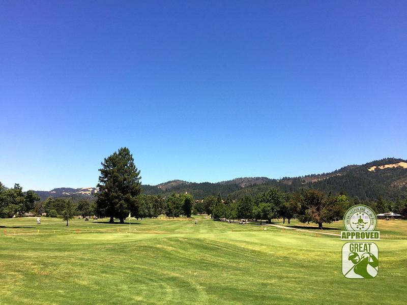 Oakmont Golf Club WEST Santa Rosa California Hole 9