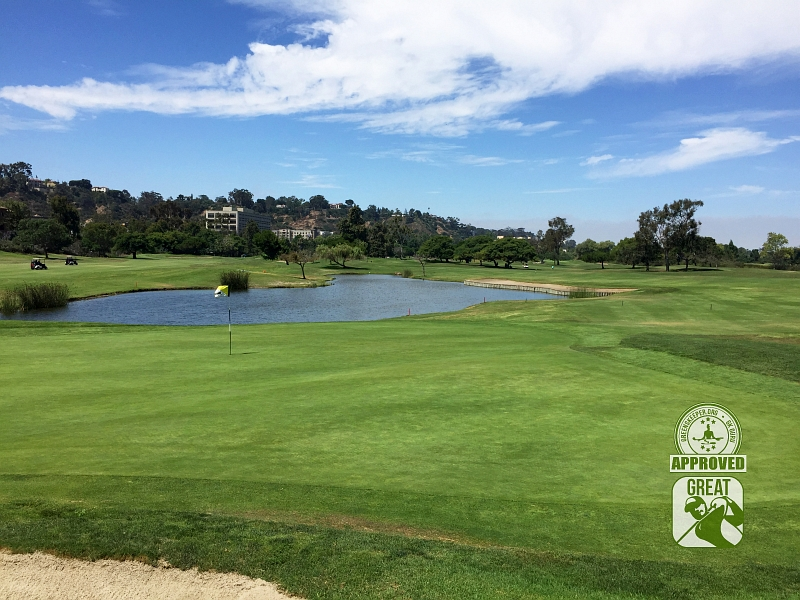 Riverwalk Golf Club San Diego California Hole 6