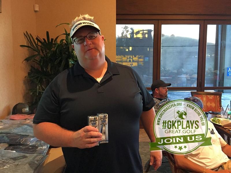 Yocha Dehe Golf Club Brooks CA Brandon Garcelon sports his Srixon SWAG