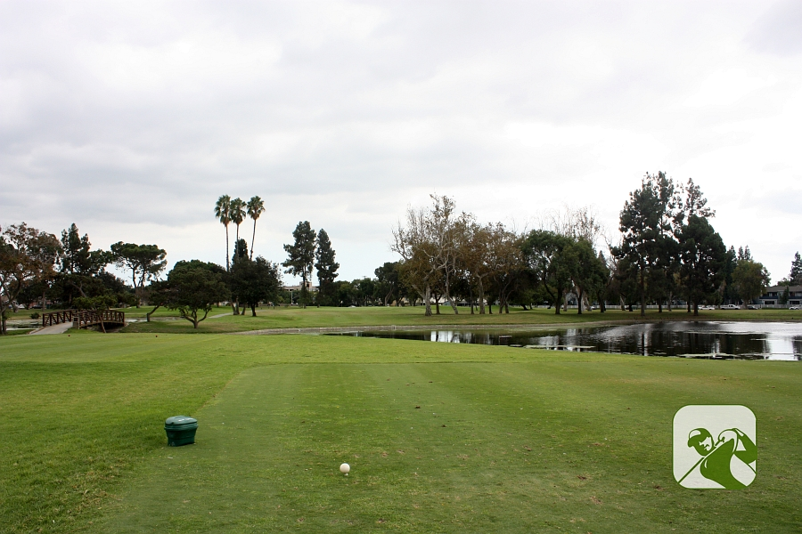Los Amigos Golf Course Downey CA Hole 17