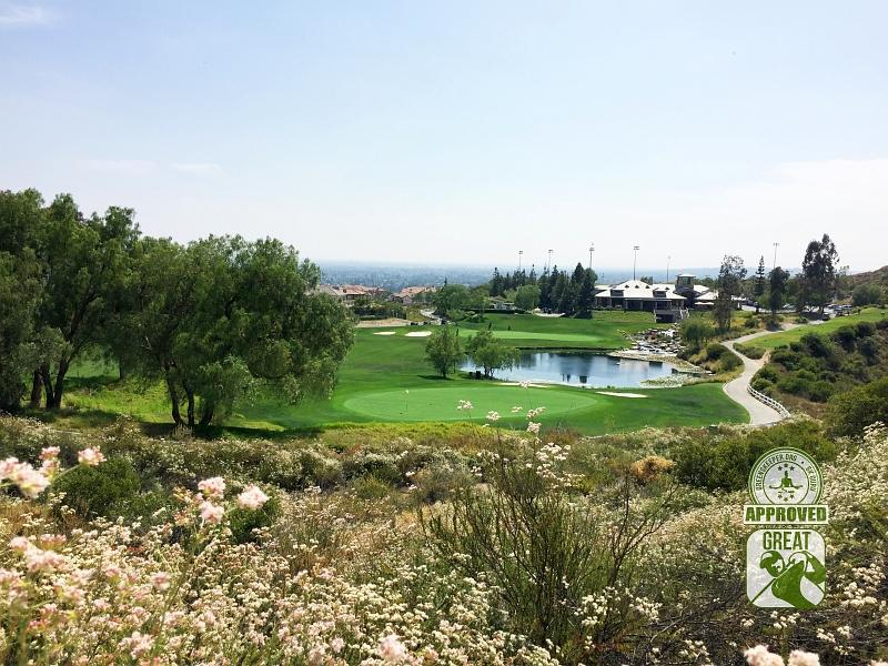 Black Gold Golf Club Yorba Linda California GK Guru Visit-Hole-10 & Clubhouse