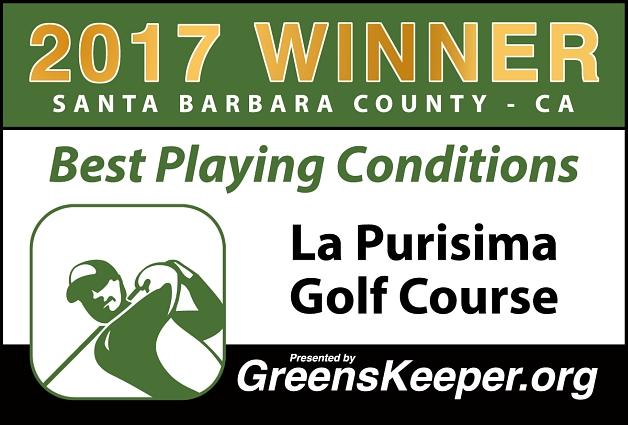 Best Playing Conditions 2017 La Purisima Golf Course - Santa Barbara County