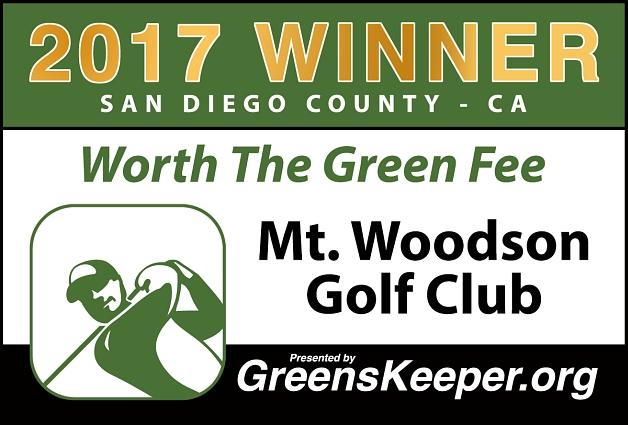 WTGF Mt Woodson Golf Club 2017 - San Diego County