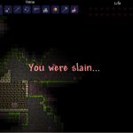 You were slain ...