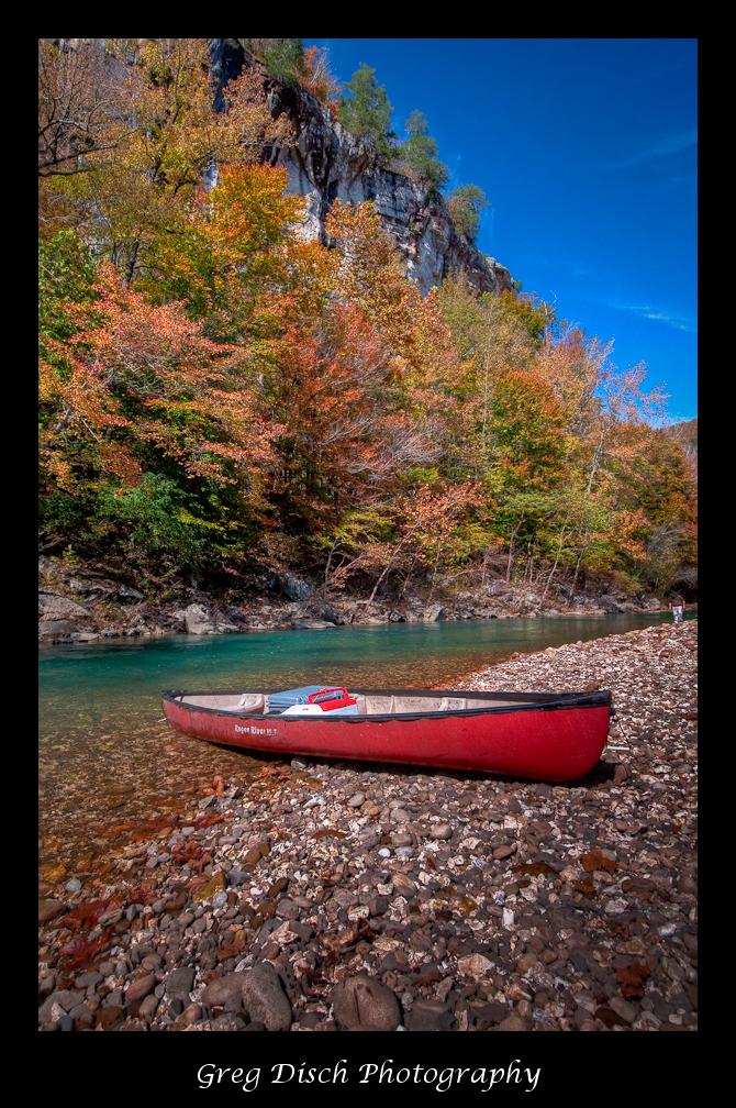 Free Desktop Wallpaper Fall Foliage Fall Canoe Trip On The Buffalo National River Greg Disch
