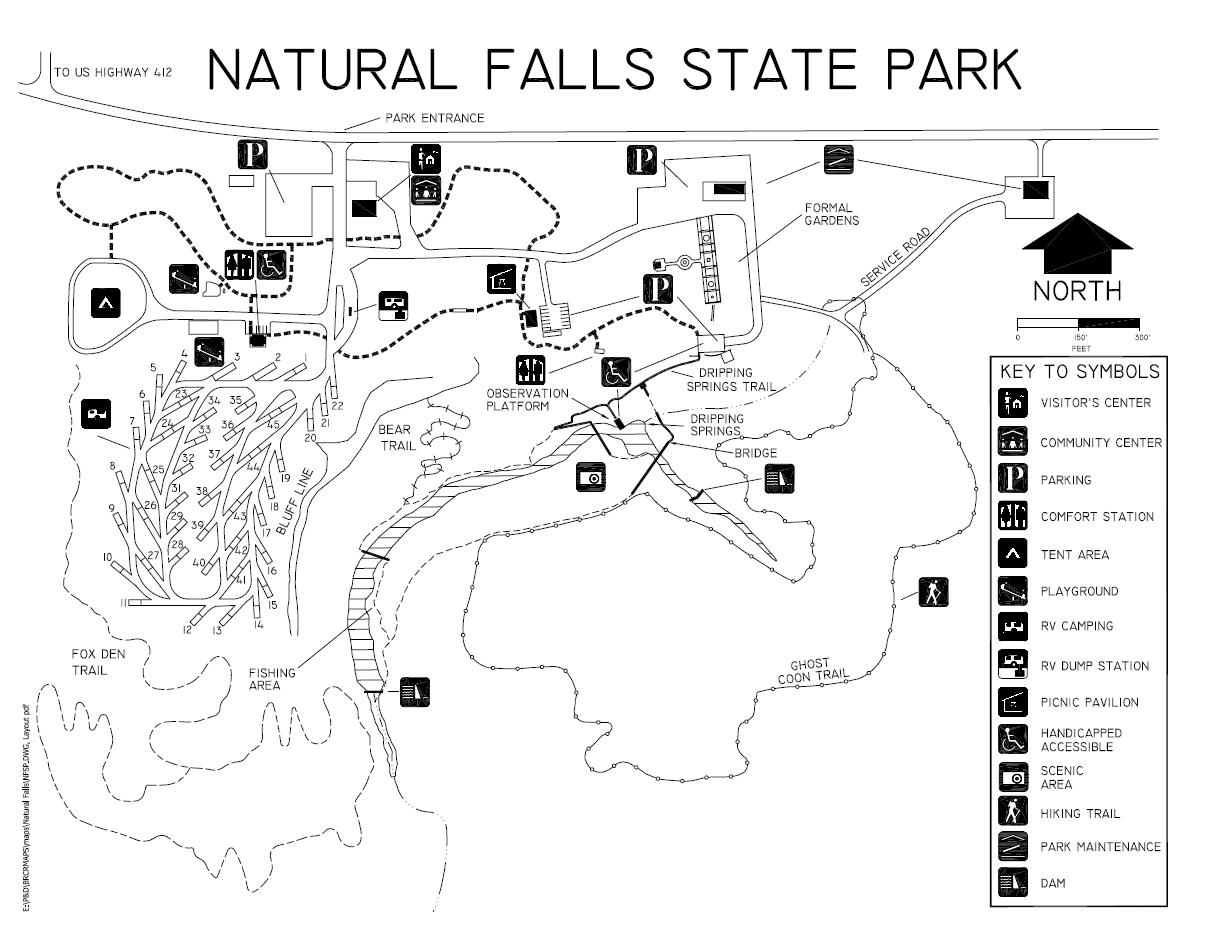 Natural Falls Waterfall – Oklahoma