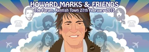 Howard Marks & Friends artwork by Pete Fowler