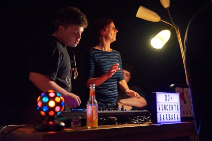 Democratic Disco im Zentralcafé, 14. September 2018