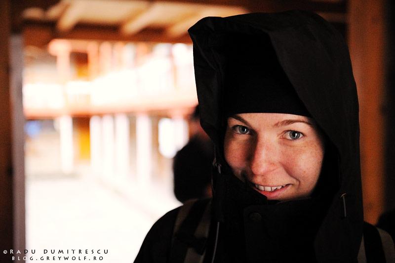 Fotografie de călătorie. Portret cu o fată din Canada, care a lucrat ca profesoară în Asia.