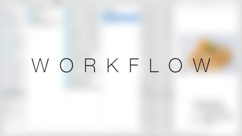 Workflow -> Stocarea imaginilor