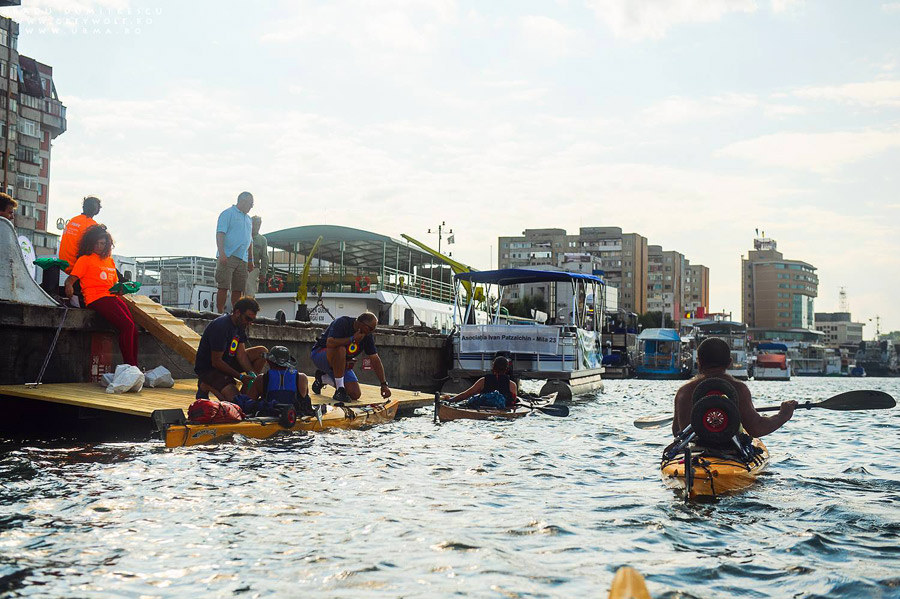Sosirea în portul Tulcea, TID 2013