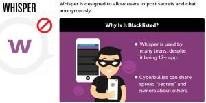 Dangerous Application Whisper