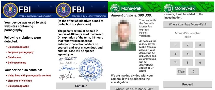 FBI virus Ransomware
