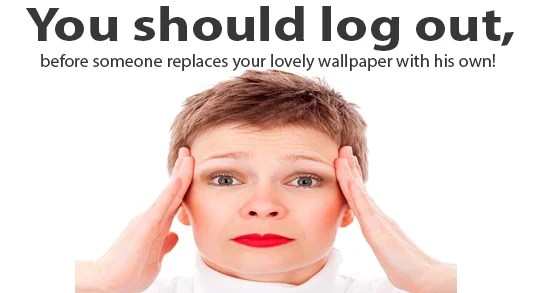 Log Out from all devices
