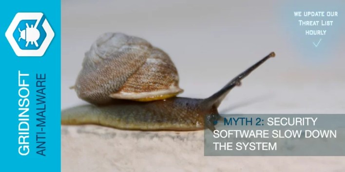Myth 2. Security Software Slow Down The System