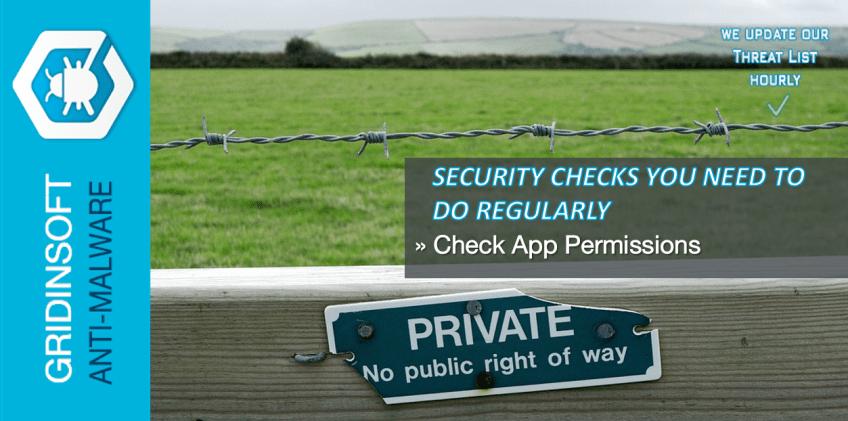 Check App Permissions