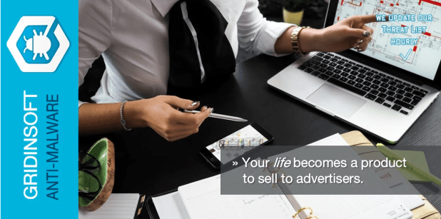 your life becomes a product to sell to advertisers