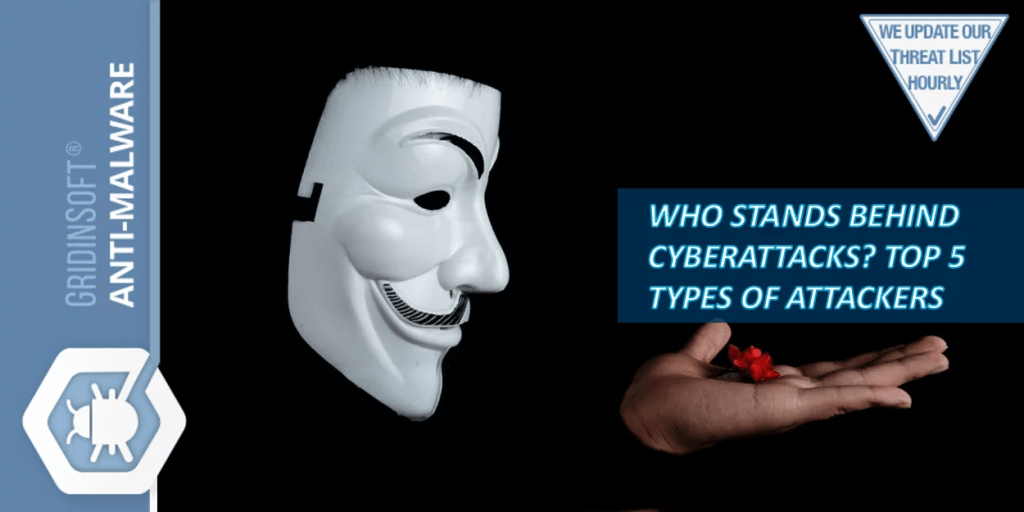 Who stands behind cyberattacks? Top 5 types of attackers