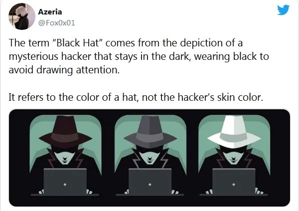 black hat - not neutral enough
