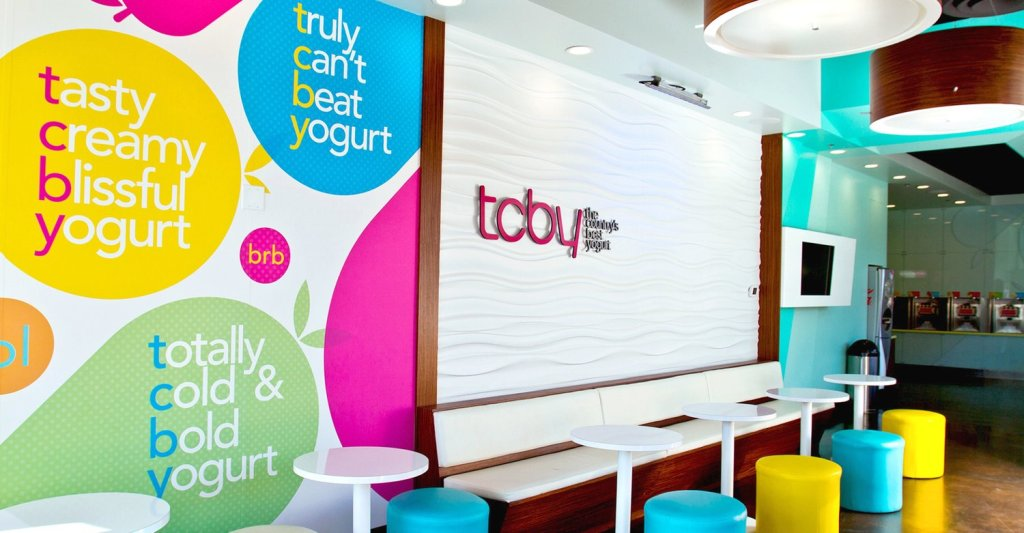 TCBY has tons of flavors of soft-serve and hand-scooped frozen yogurt!