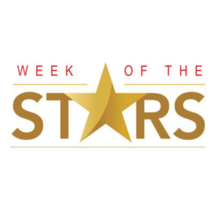 "Logo reading ""Week of the Stars"""