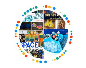 space activity pinterest board