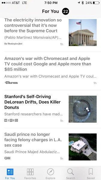 News - Standard Size