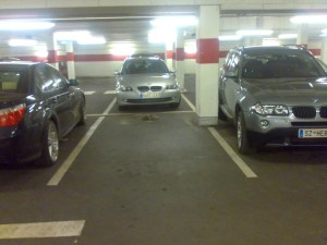 Parken mal anders…
