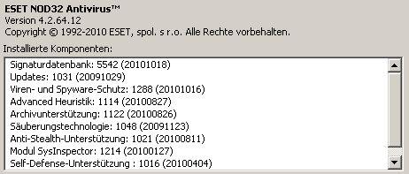 ESET/NOD32 nod14FB.nup Problem – Anmeldung funktioniert nicht mehr!