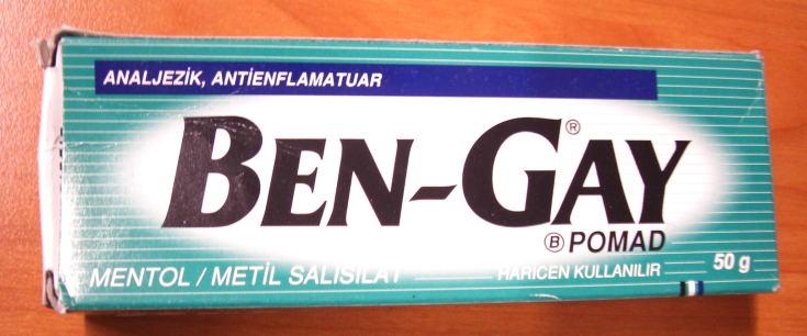 Bengay Salbe Türkei