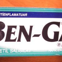 Ben Gay - der wohl schwulste Name für eine Schmerzstillende Salbe!