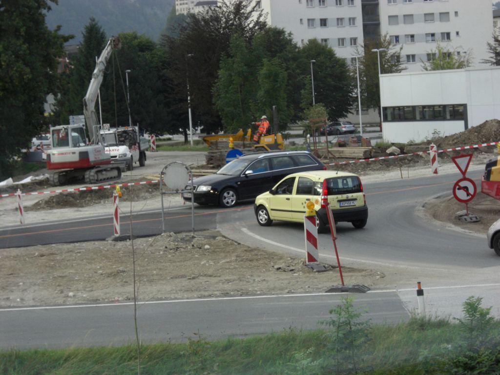 Baustellenwahn – blind was Verkehrszeichen angeht!?