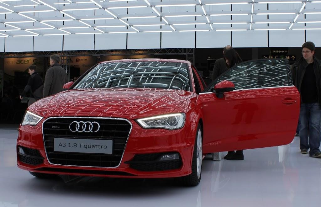Cebit 2012 – Vorstellung des neuen Audi A3