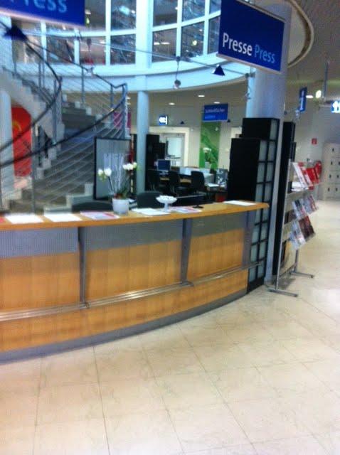 Hannover Messe – leeres Pressezentrum