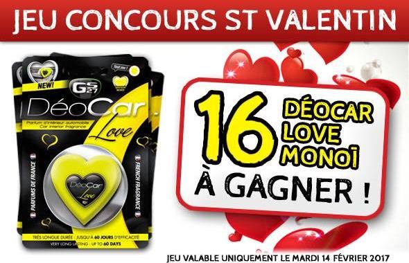 Jeu concours St Valentin