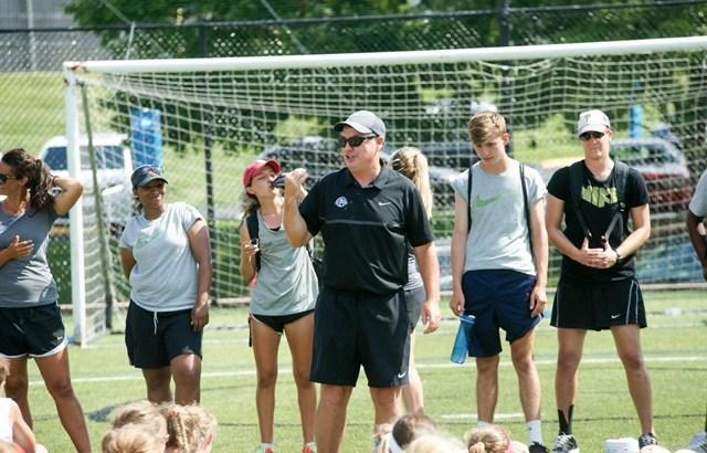 Coach Huw Williams