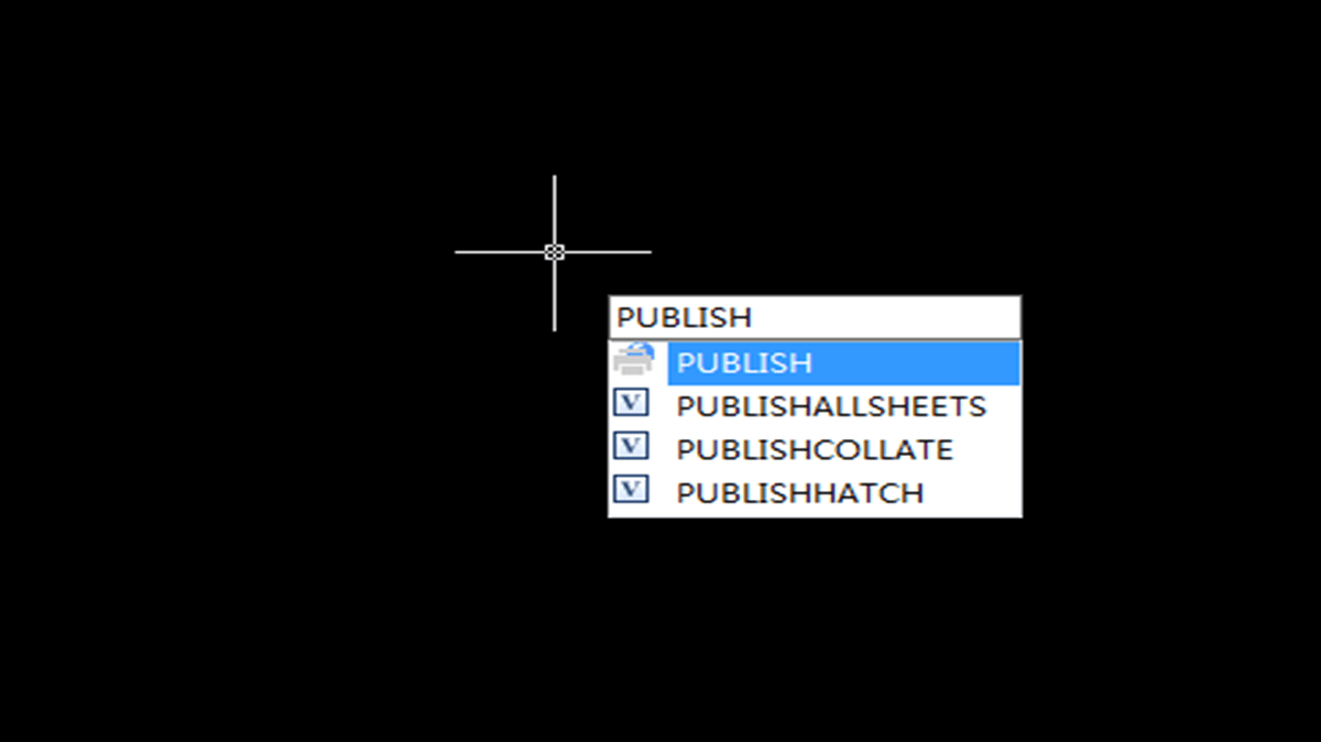 Publish in CAD—-the simplest batch print function