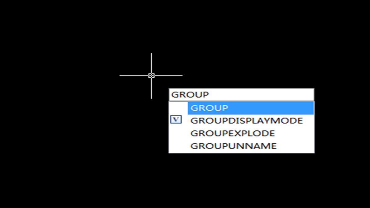 Get to know the Group command in GstarCAD