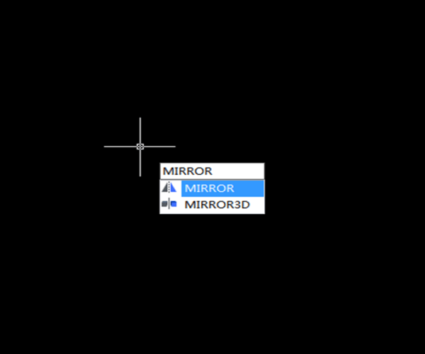 CAD Mirror Command