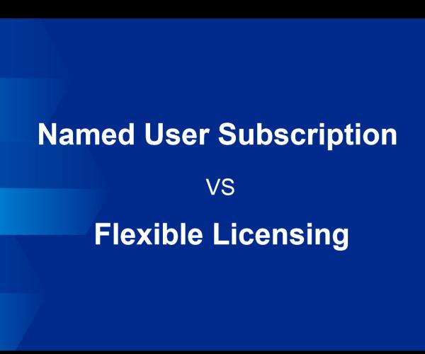 Named-user subscription VS Flexible licensing