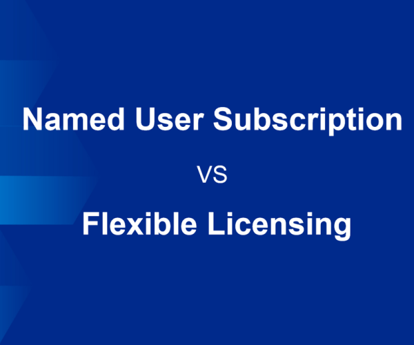 Named-user subscription VS Flexible licensing