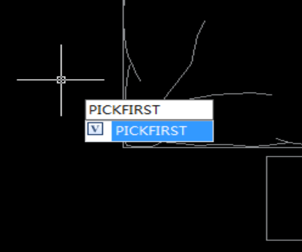 PICKFIRST (System Variable)