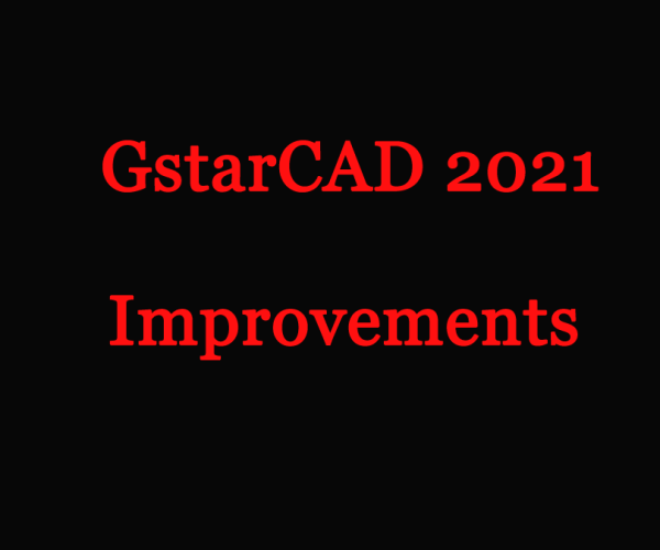 GstarCAD 2021 Improvements: Tool Palette and Mtext Editor