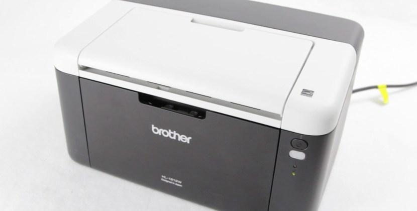 Relatório de informações impressora Brother HL1112 e HL1202