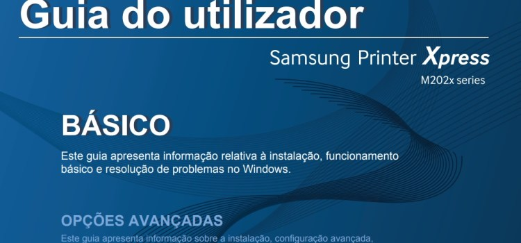 Manual Samsung M2020 e M2020w (Guia do Usuário)