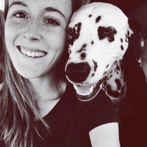 Julie et Indy dalmatien