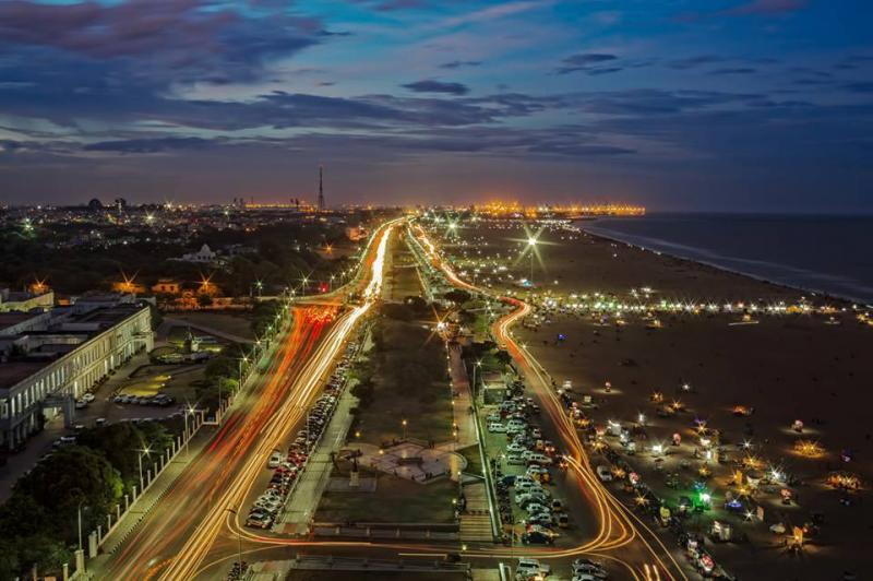 Marina Beach, Chennai  Image Source