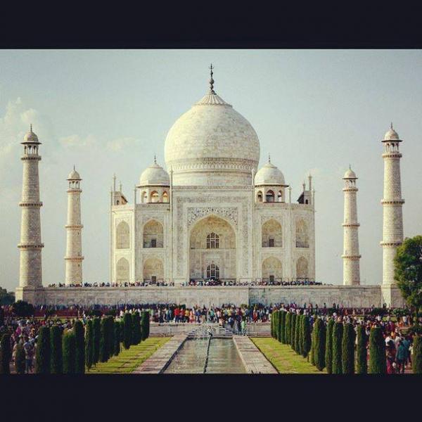 Taj Mahal  Image Cortesy: Archeet Nayar  Image Source