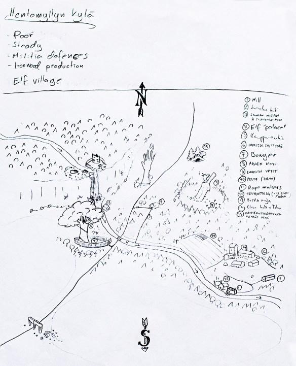 The map of Fairmill (Kaunismylly)